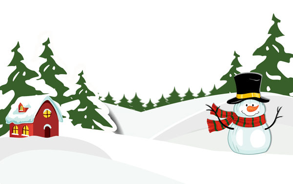 Bush clipart winter. Free snowy cliparts download