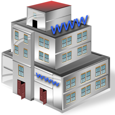 Business building png. Vista by iconshock icon