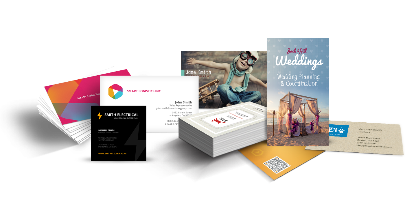Post cards png. Business dixie printing creative