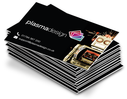 Moving business cards png