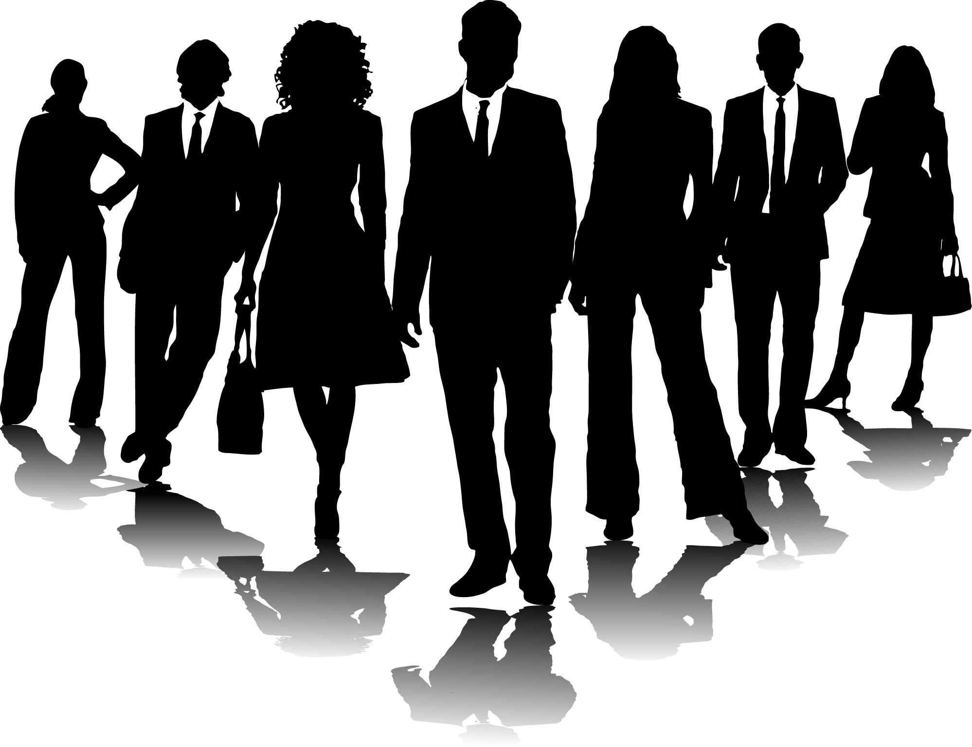 Business clipart. People