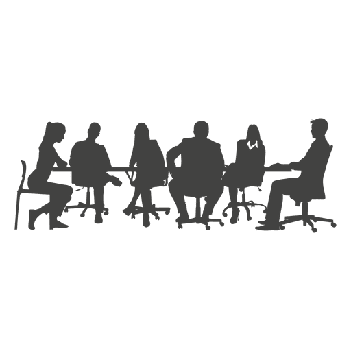 Business meeting png. People team transparent svg