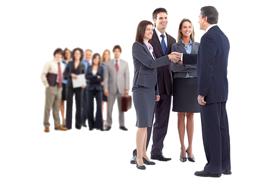 Team transparent business. People png images free