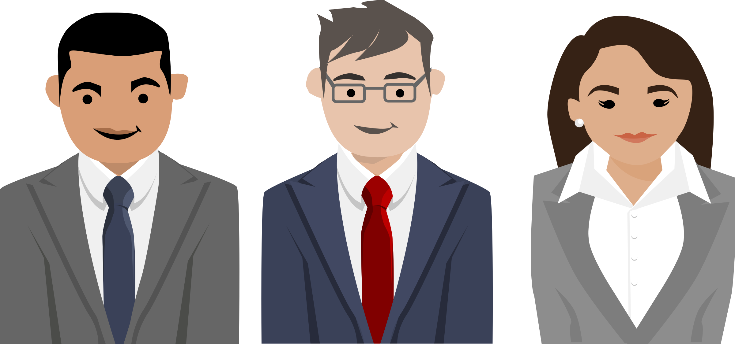 Business people png. Characters icons free and