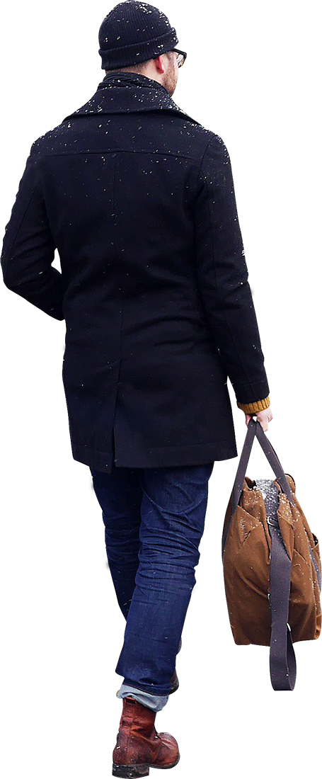 People walking away png. Transparent pictures free icons