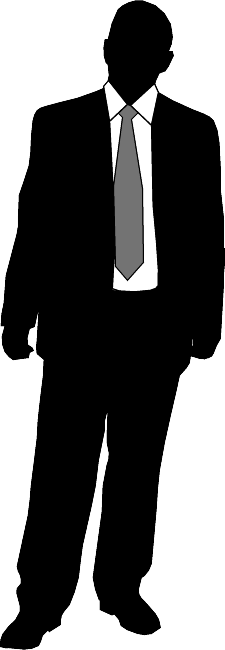 Man in suit silhouette png. At getdrawings com free