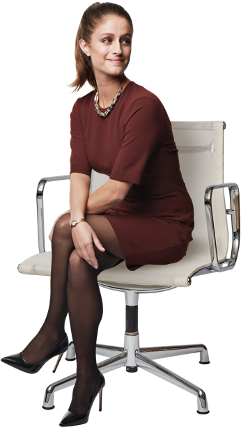 Business woman sitting png. Per jobs people family