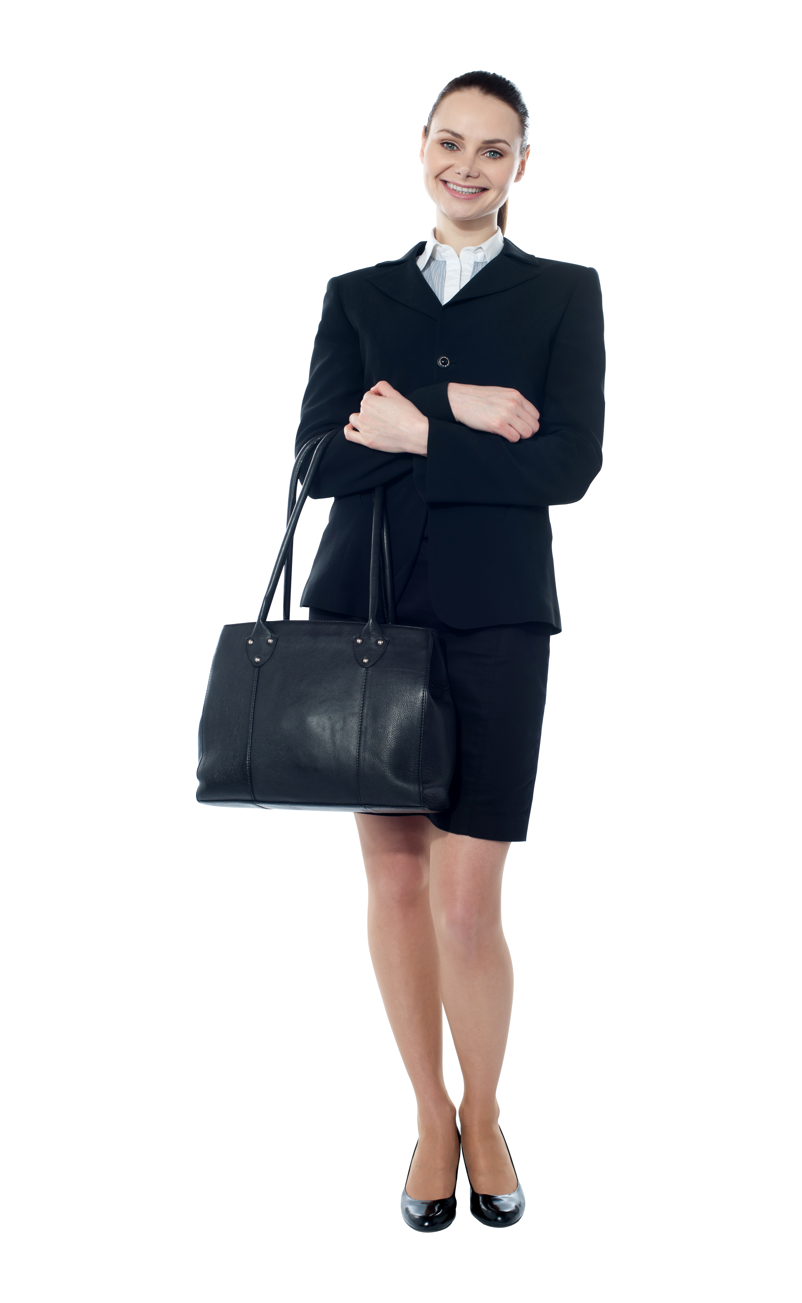 Business woman standing png. Women image purepng free