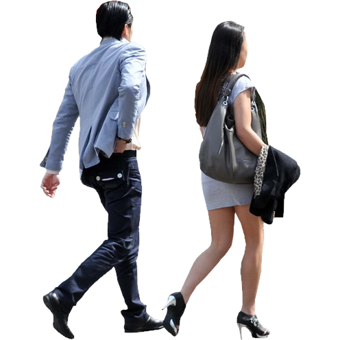 Person walking png. People transparent pictures free