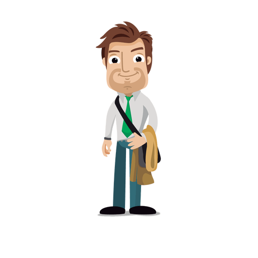 Businessman cartoon png. Profession svg transparent vector