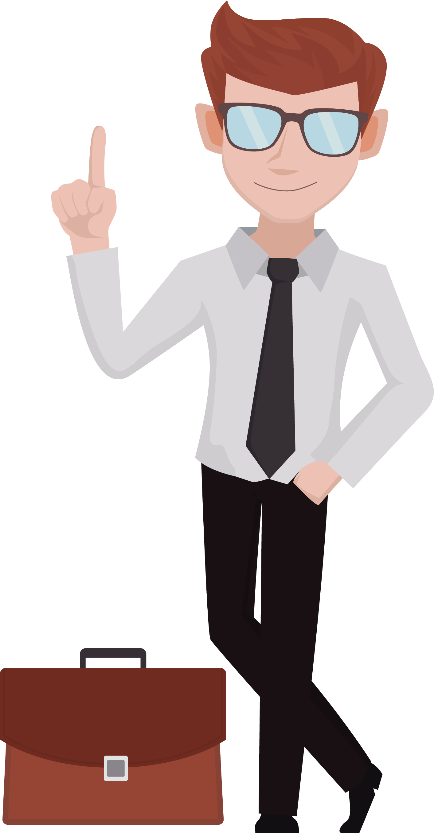 Businessman clipart png. Collection of transparent