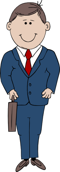 Businessman clipart png. Cartoon clip art at