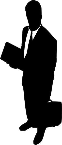 Business person silhouette png. Businessman at getdrawings com