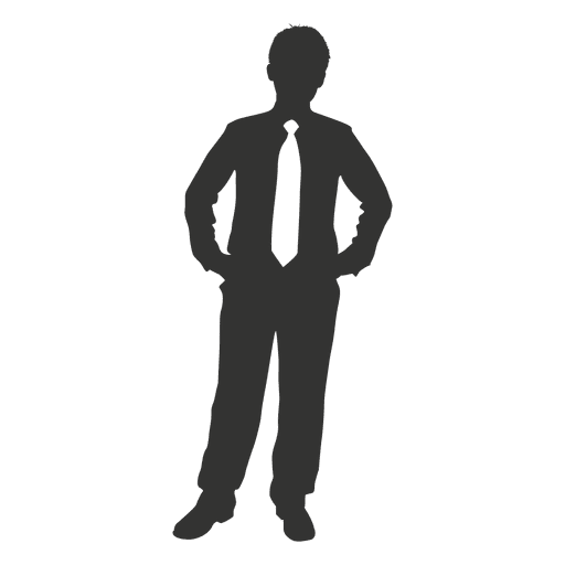 Businessman looking right png. Standing casual transparent svg