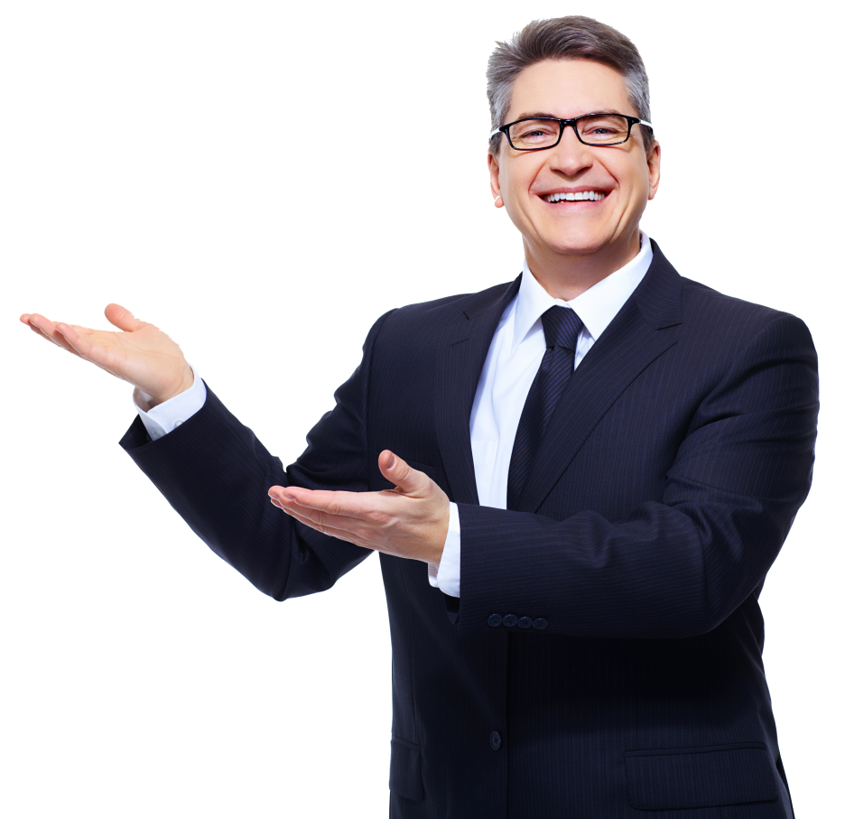 Businessman looking right png. Mlm software script network