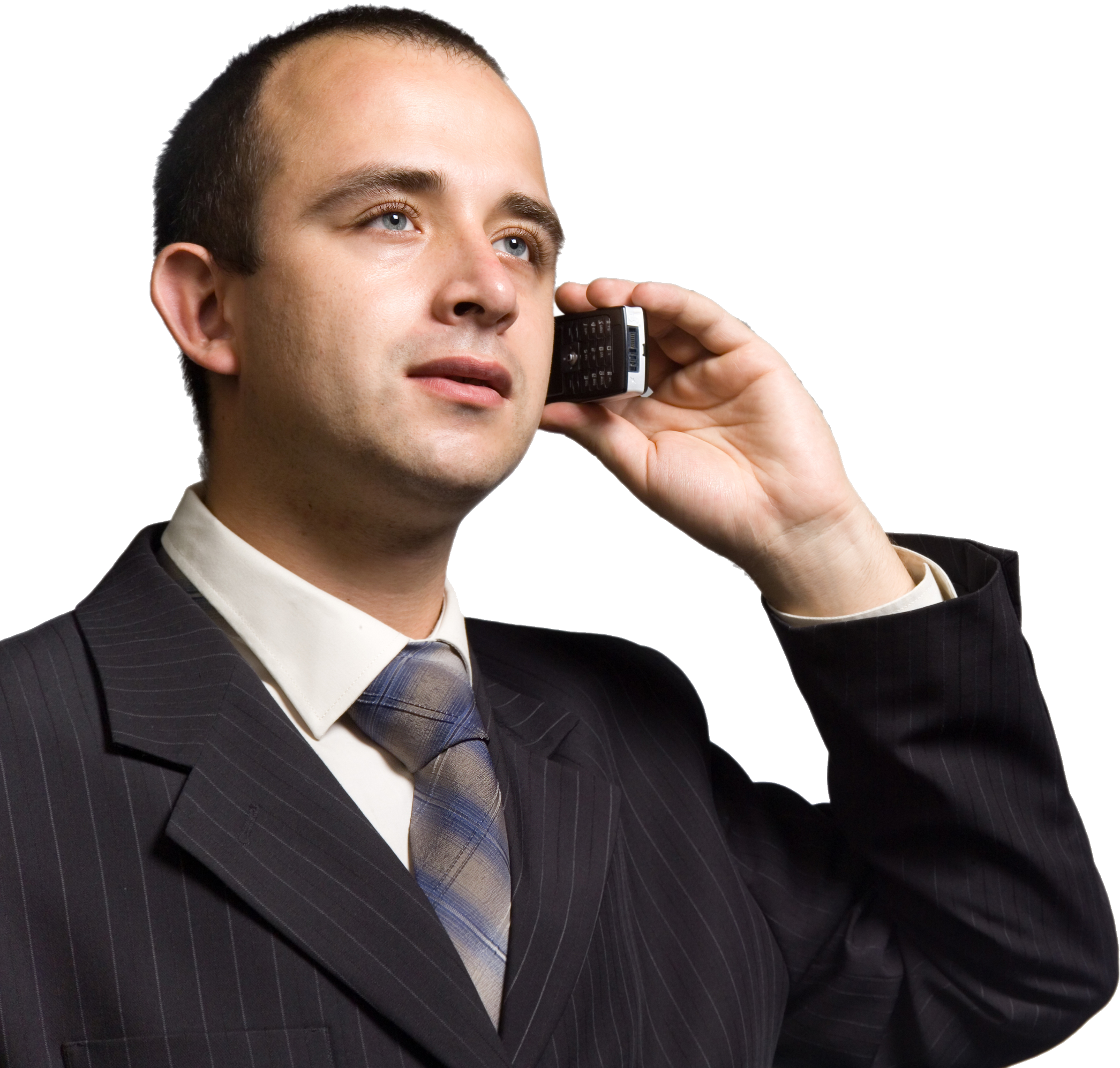 Businessman on the phone png. Image