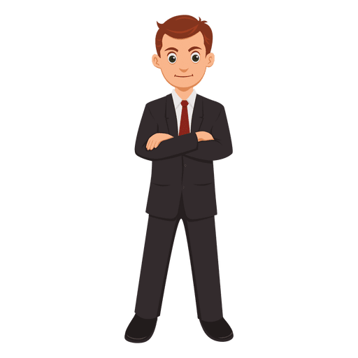 Businessman vector png. Profession cartoon transparent svg