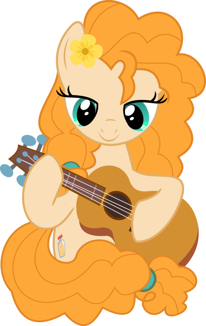 Mlp vector pear by. Butter character png image free download