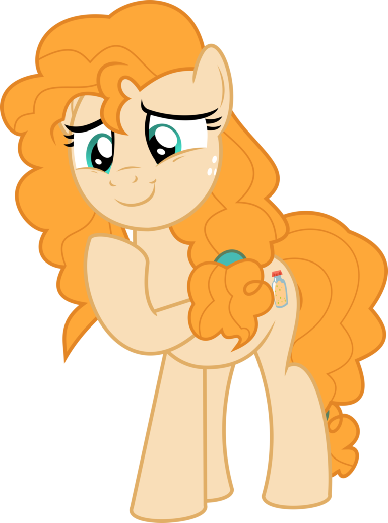 Butter character png. Mlp vector pear by