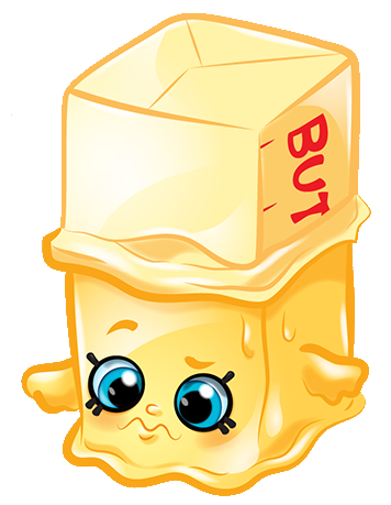 Butter character png. Image buttercup shopkins wiki