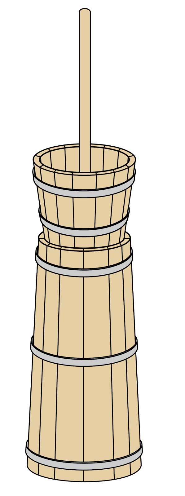 Butter clipart butter churn. Coconut production of a
