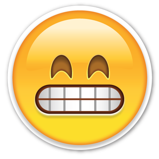 Butter emoji png. Grinning face with smiling