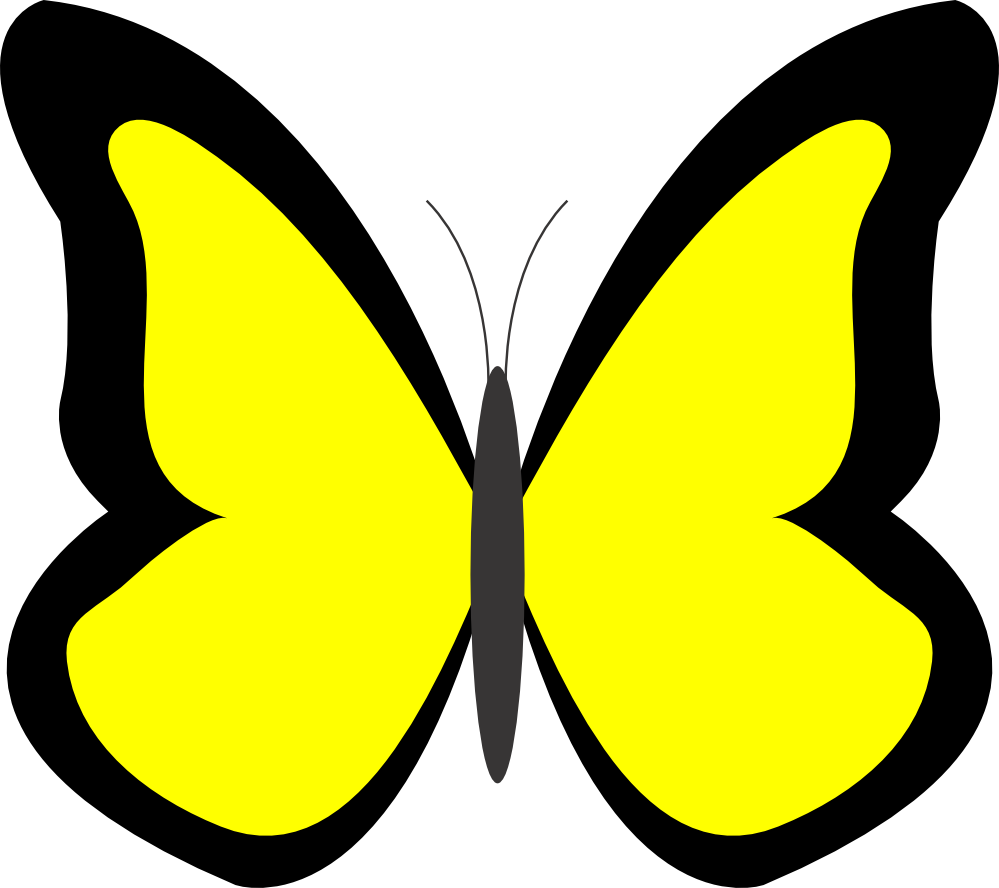 Butterfly panda free images. 3 clipart yellow clipart black and white library