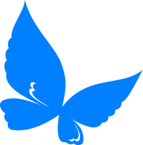 Butterfly clip art blue butterfly. Clipart panda free images