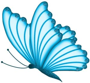 Butterfly clip art blue butterfly. Best images on