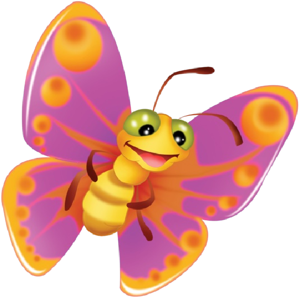 Cute cartoon images on. Butterfly clip art clear background clip royalty free stock