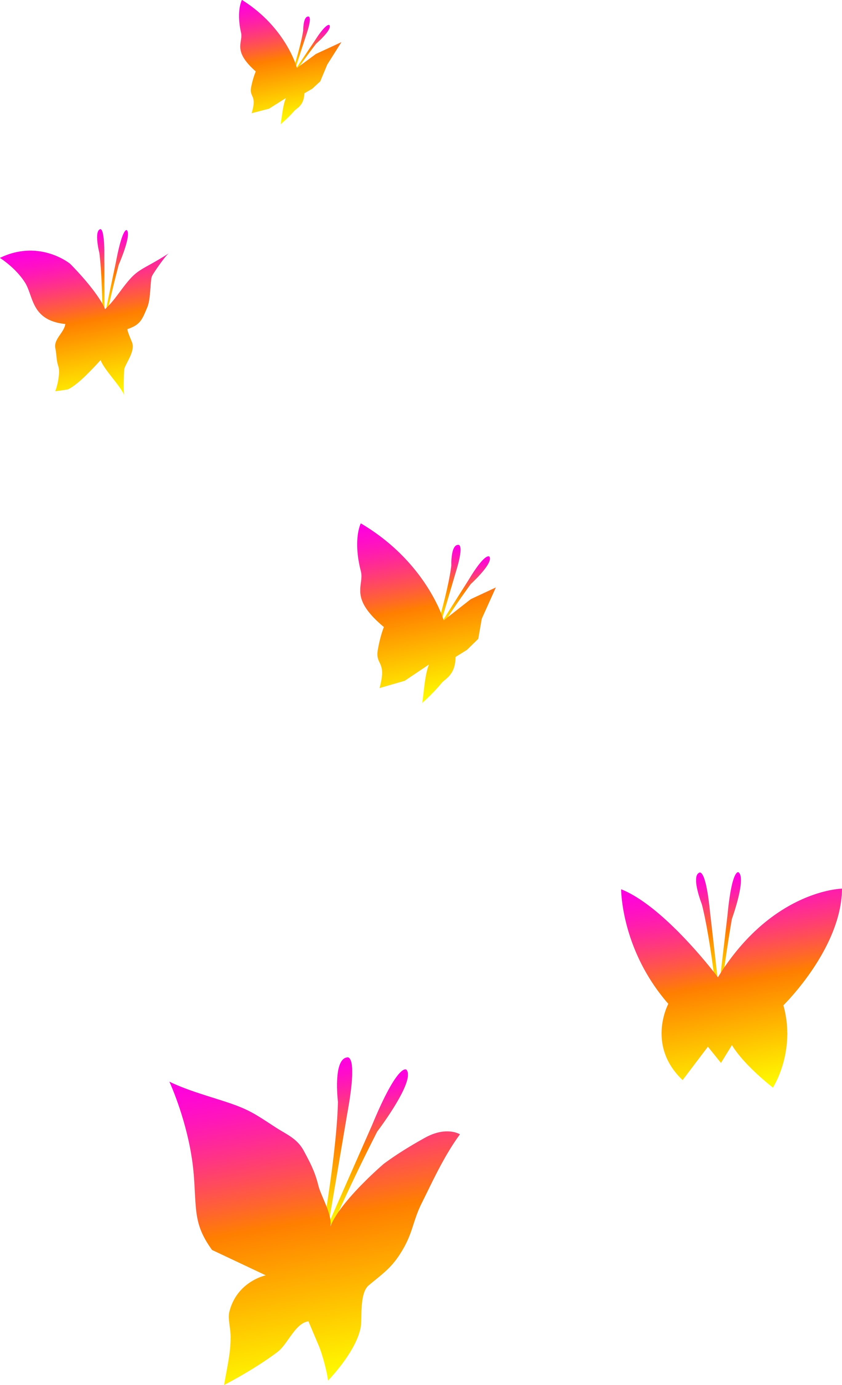 Pink and yellow transparent. Butterfly clip art clear background png black and white