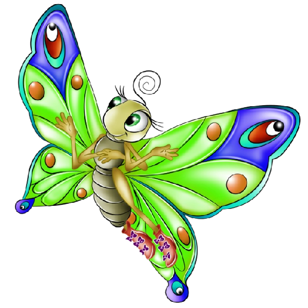 Butterfly clip art colourful. Images butterflies and pinterest