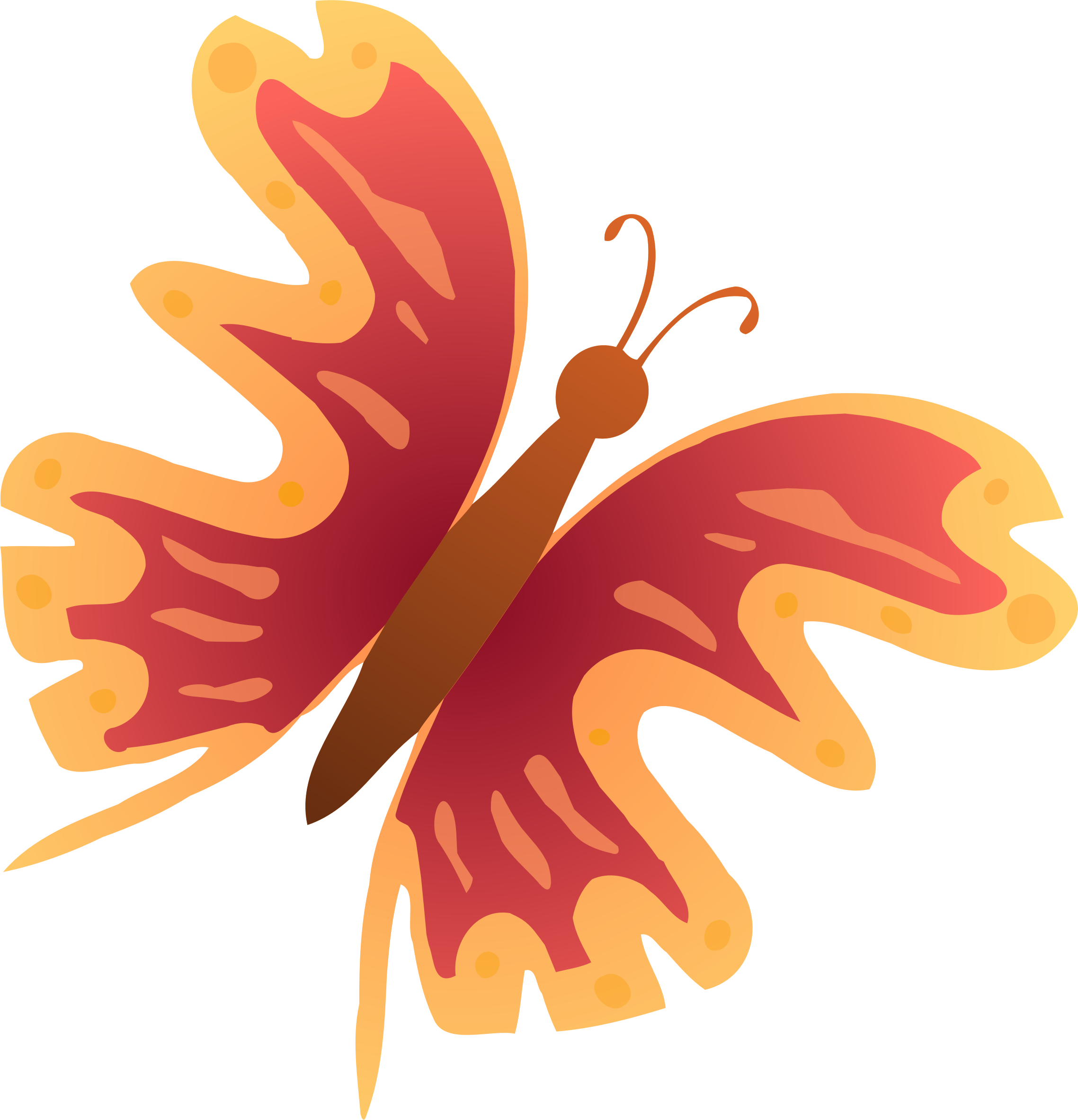 Butterfly clip art colourful. Clipart big image png