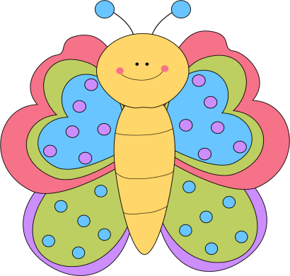 Butterfly clip art cute. Images pretty