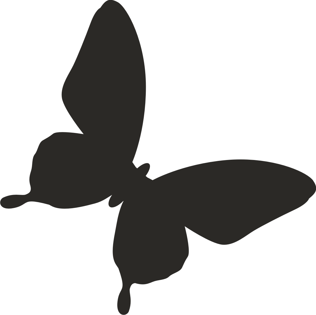 Butterfly clip art silhouette. Vector clipart best silhouettes
