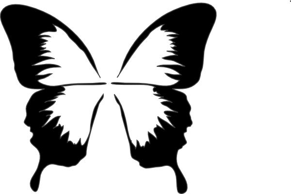Pin by emily shinn. Butterfly clip art silhouette clip library stock