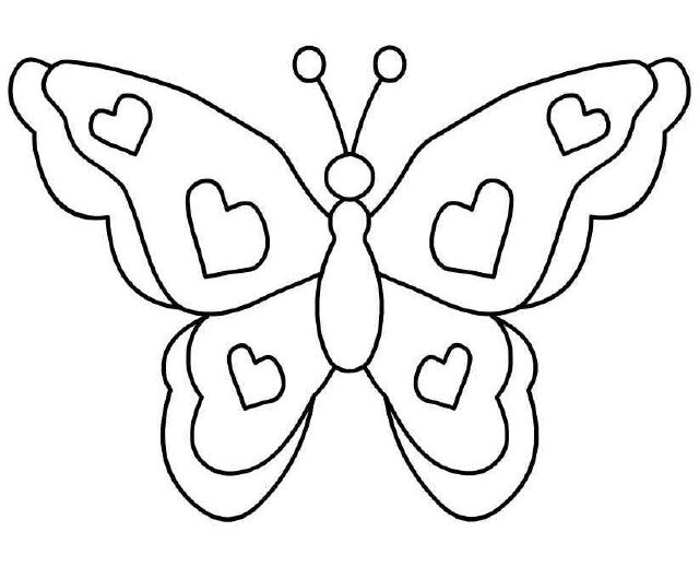 Butterfly clip art simple. The top best blogs