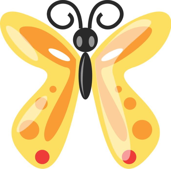 Butterfly clip art small butterfly. Free graphics of butterflies