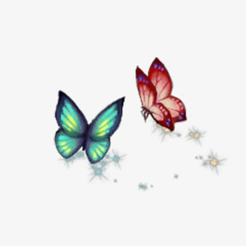 Butterfly clip art small butterfly. Beautiful romantic fresh png