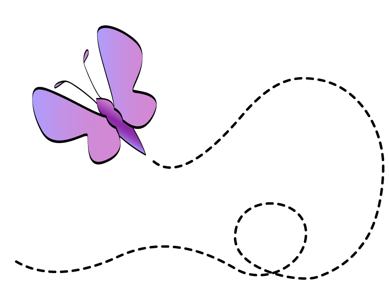 Clipart library free flower. Butterfly clip art spring svg free stock