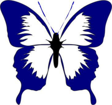 Butterfly clip art spring. Insect blue pinterest