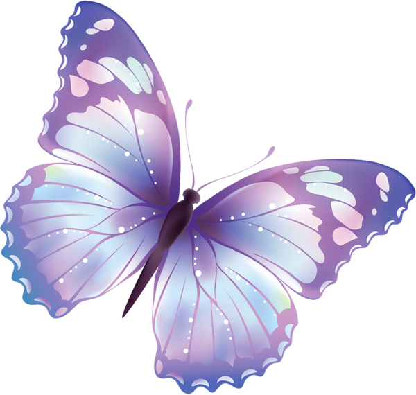Butterfly clip art transparent background. Free png large clipart