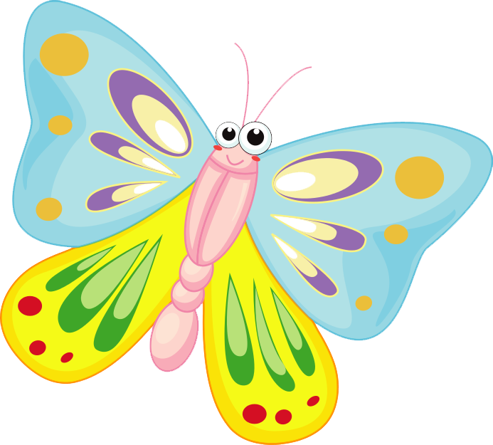 Butterfly clip art transparent background. Cartoon png images free