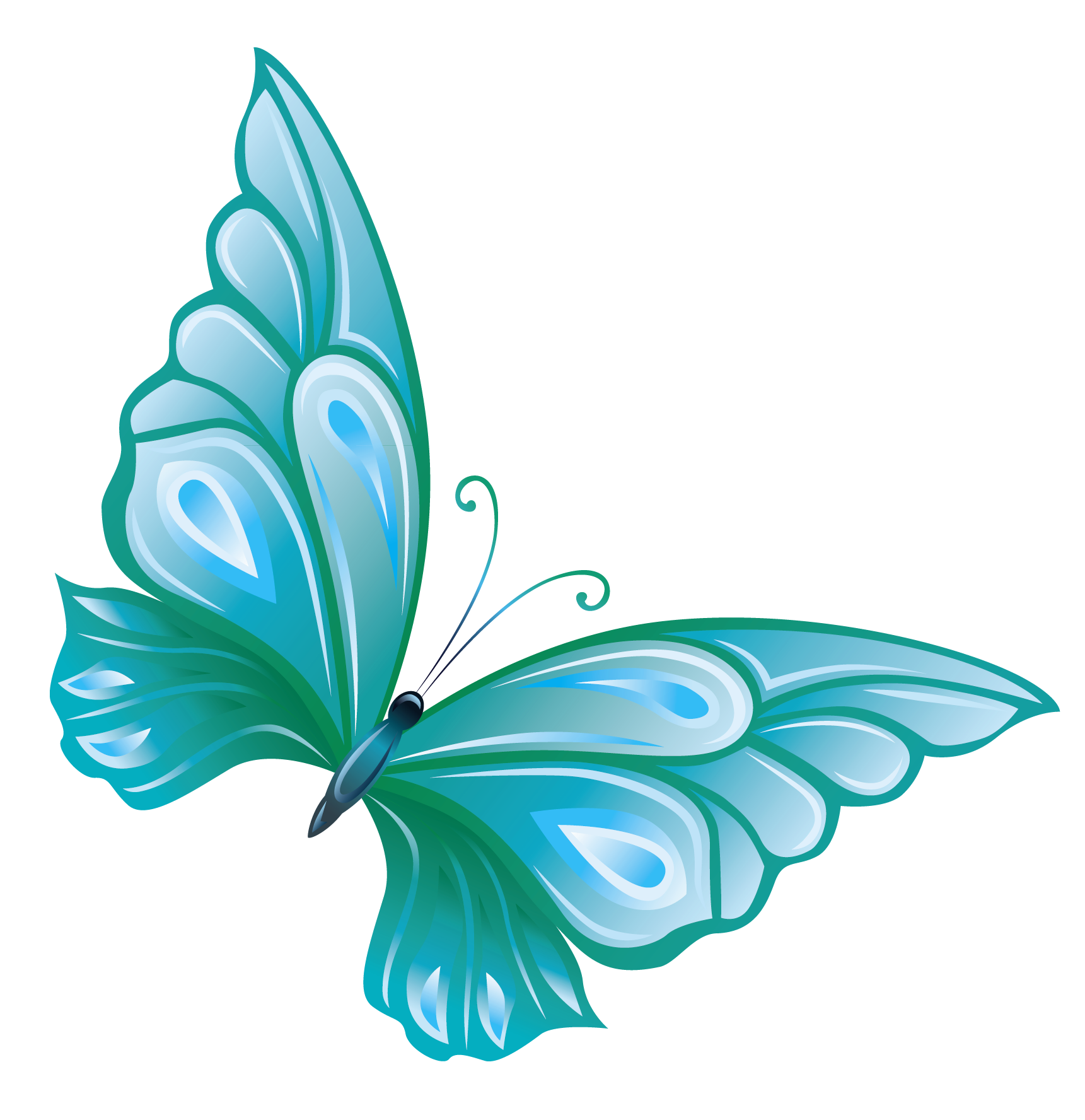 Butterfly clip art transparent background. Clipart library