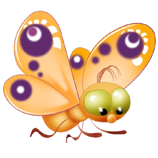 Butterfly clip art transparent background. Baby cartoon pictures all
