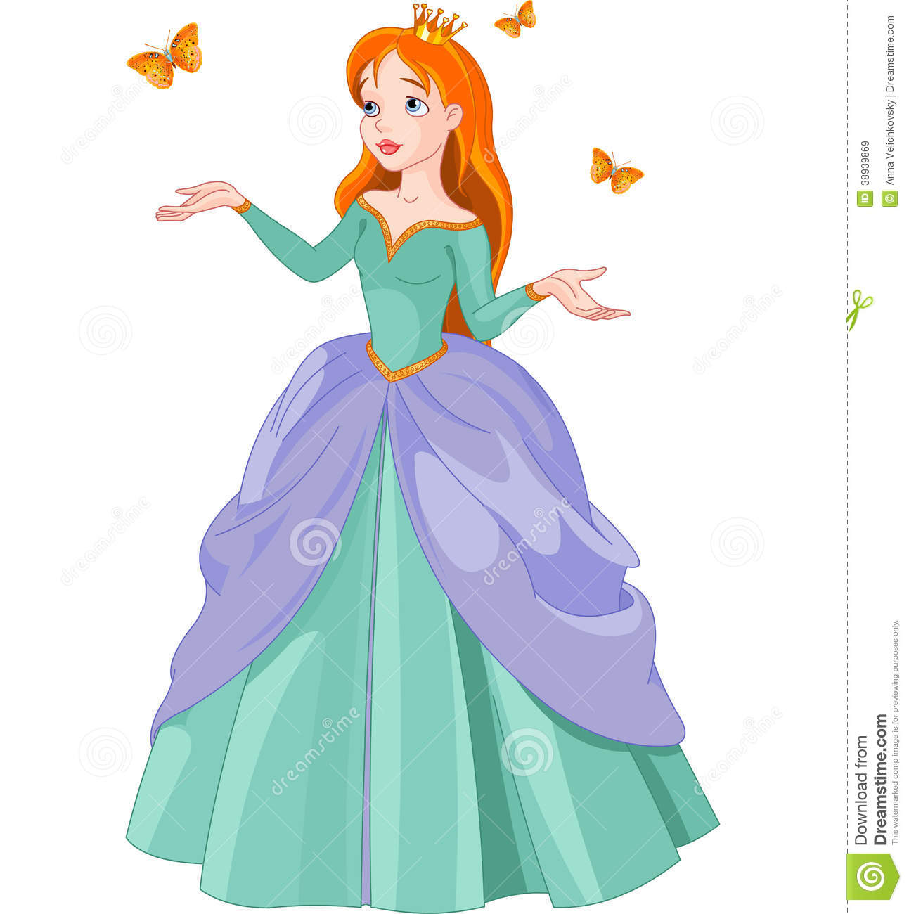 And butterflies stock vector. Butterfly clipart princess banner free