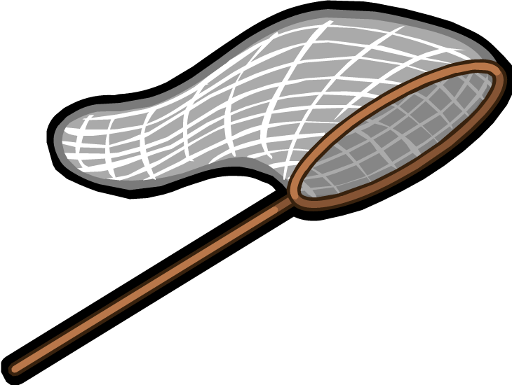 Net clip butterfly. Image render png cactus