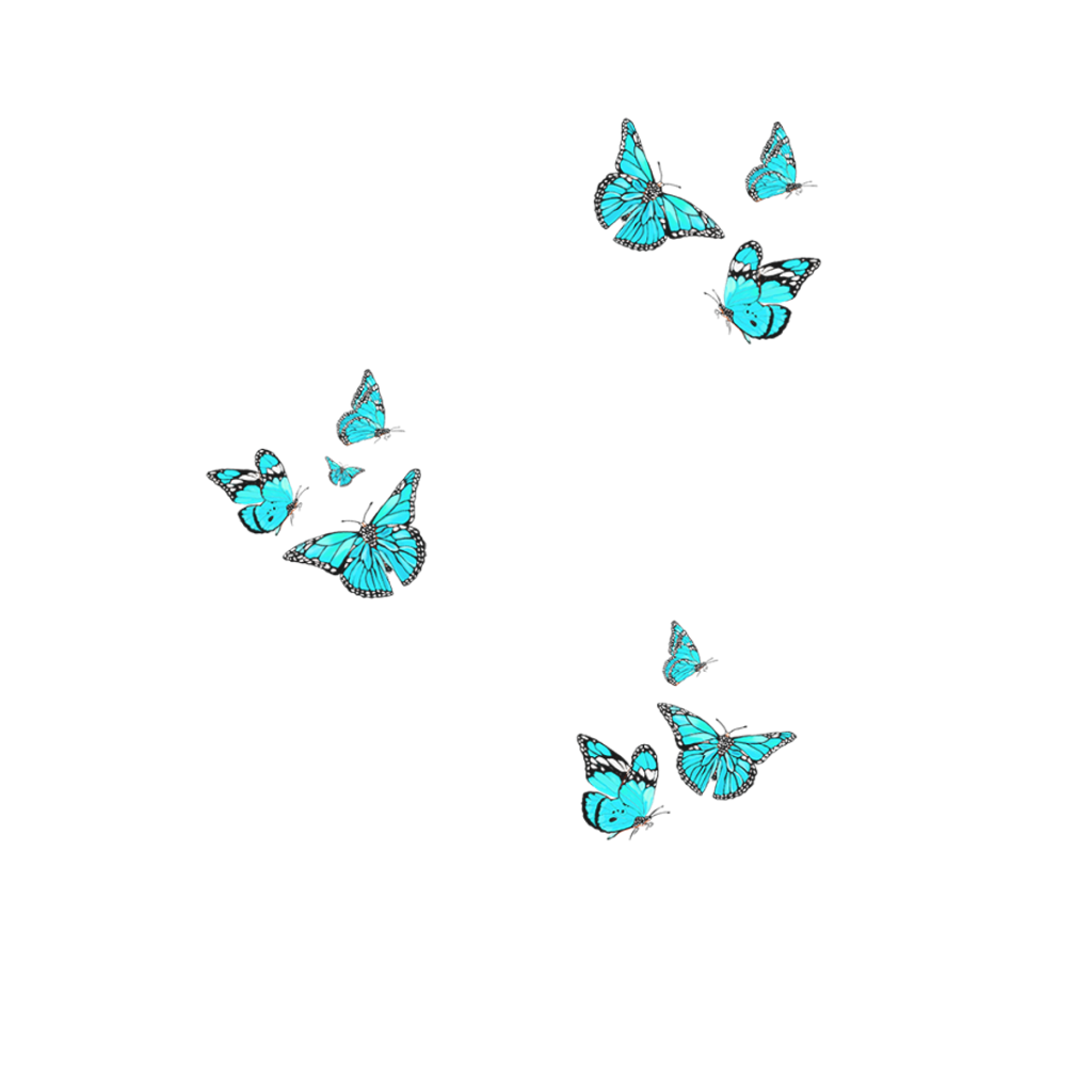 Butterfly overlay png. Freetoedit remixit bluebutterfly butt