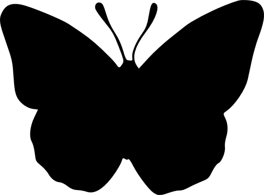 Free images toppng transparent. Butterfly silhouette png banner library library