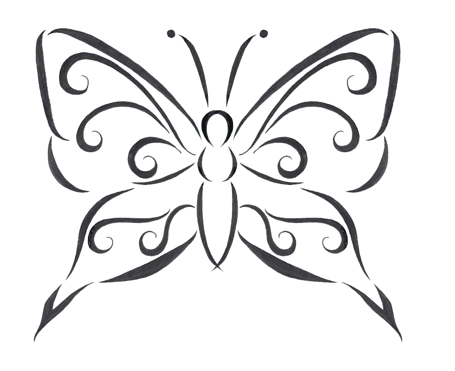 Drawing desings butterfly. Download tattoo designs transparent